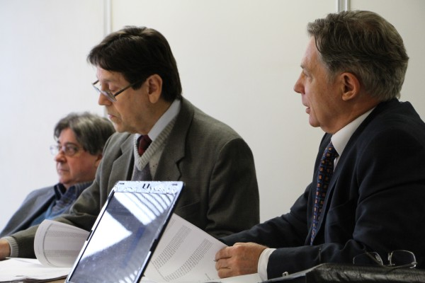 Cláudio Allgayer, Flávio Borges e Mauro Stormovski