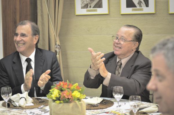 Leomar bammann e Luiz Alberto Tarragô