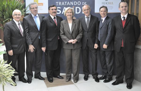 Alceu Alves da Silva, Fernando Torelly, Odacir Rossato, Ana Amélia, Claudio Seferin, Mauro Stormovski e Jorge Avelino
