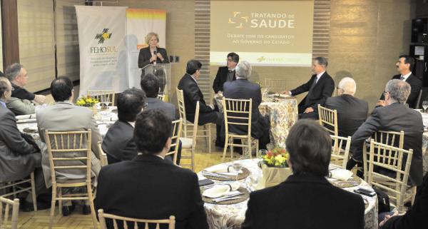 Ana Amélia apresenta suas propostas para o setor