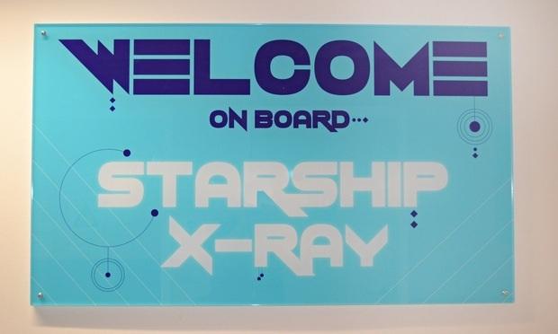 """""""Bem vindo à bordo"""" - raio x se torna mais divertido"""