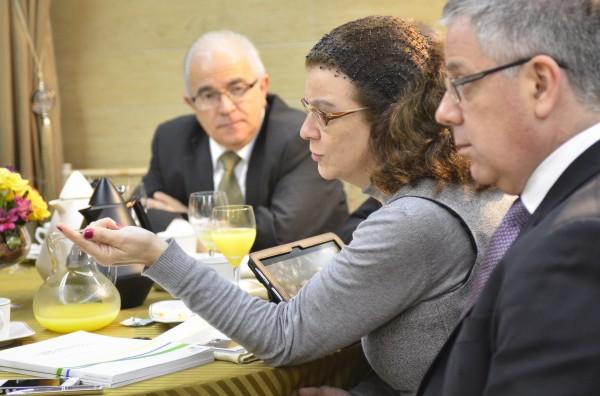 Secretária da Saúde, Sandra Maria Sales Fagundes