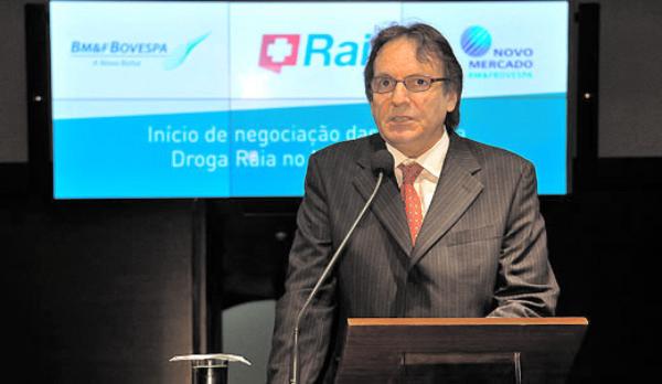 Antônio Carlos Pipponzi (Raia Drogasil) - Foto  Bovespa