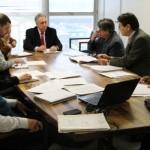 Reunião com Ipergs, Fehosul e Sindihospa