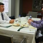 Presidentes da FEHOSUL e IPERGS discutem melhorias no plano de saúde