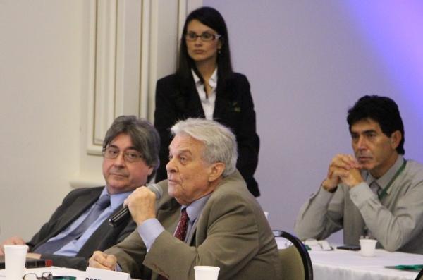 Dr. Cláudio Allgayer e Dr. Alfredo Cantalice (Amrigs)
