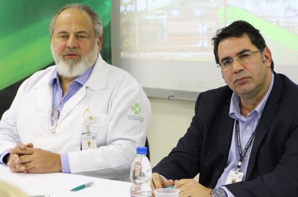 Amarilio Vieira de Macedo e Fernando Martins Pereira da Silva