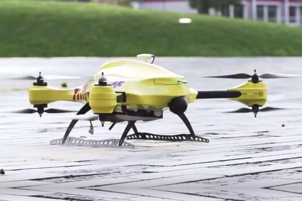 Drone-ambulância pode revolucionar o atendimento de emergência