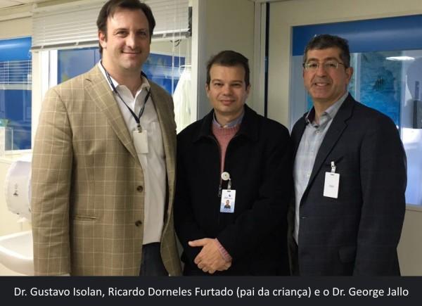 Cirurgia rara realizada no Hospital Moinhos com parceria do Johns Hopkins Hospital