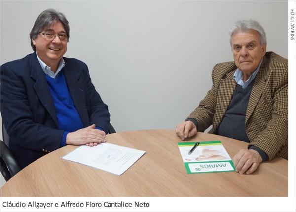 Alfredo Floro Cantalice Neto, presidente da Amrigs