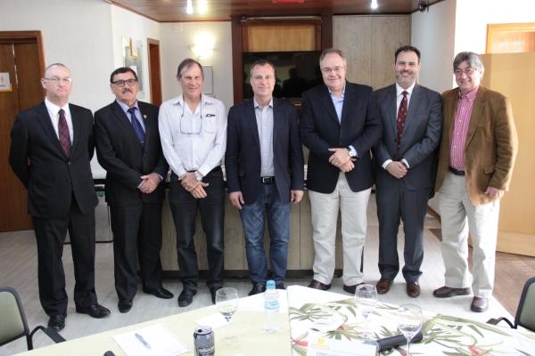 Ricardo Minotto, Odacir Rossato, Ricardo Englert, Erno Harzheim , Henri Chazan, Ricardo Gomes e Cláudio Allgayer