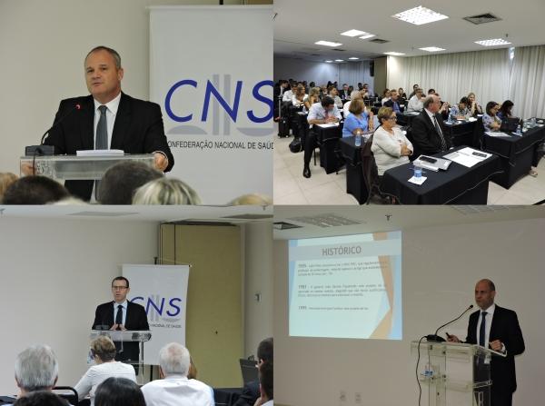 Encontro Jurídico da CNS em Brasília
