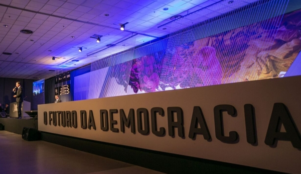 Doria teve que responder muitas indagações sobre a possibilidade de concorrer à presidência da República em 2018