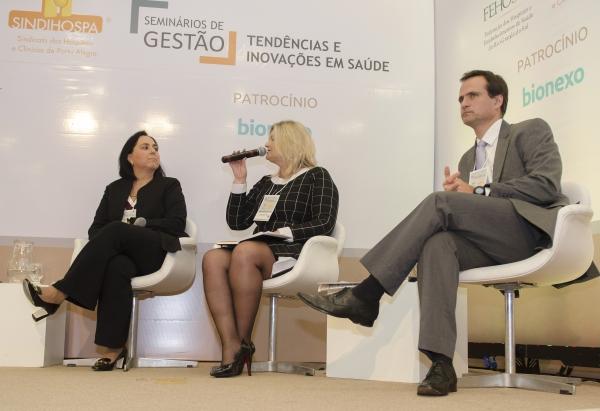 Debate da mesa que fechou o Seminários de Gestão, em Porto Alegre