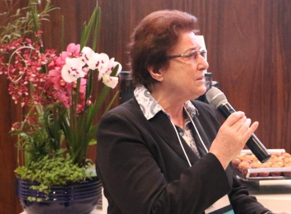 Ir. Lucia Boniatti - Presidente do Sistema Mãe de Deus