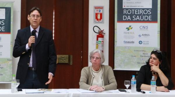 Flávio Borges, Ana Maria Zimmermann e Shirlei Gazave