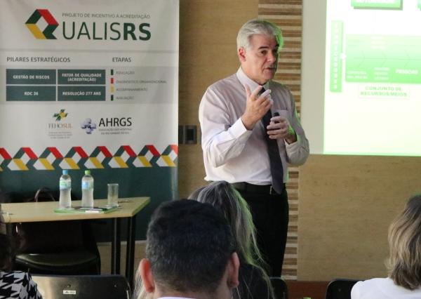 Sérgio Ruffini em evento do QUALIS-RS (arquivo)