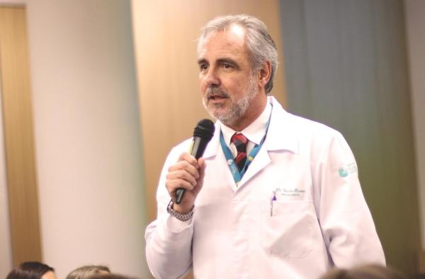 """Barrios """"Iremos reforçar nosso destaque na oncologia nacional para iniciativas de prevenção contra a doença"""""""