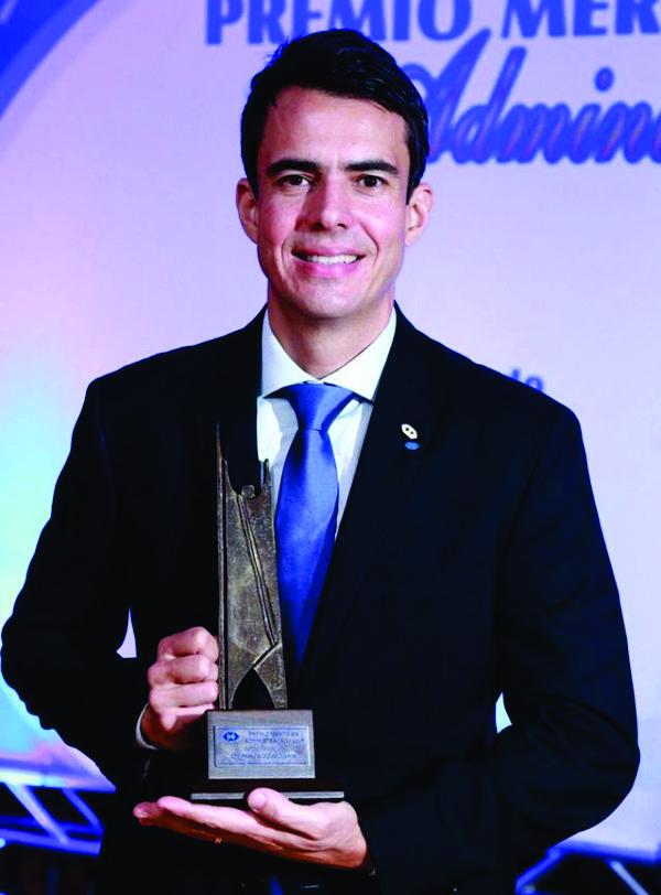 Francisco Dias Duarte, diretor administrativo Francisco Duarte da Serdil Radiologia, homenageado na categoria Setor Privado