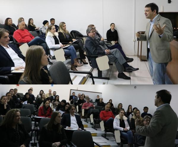 Mais de 50 profissionais prestigiaram o evento sobre DRG na Fasaúde/IAHCS