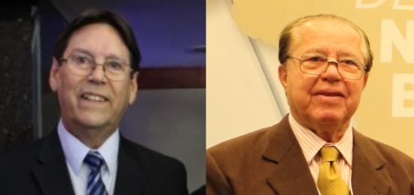 Flávio Borges e Luiz Alberto Tarrago
