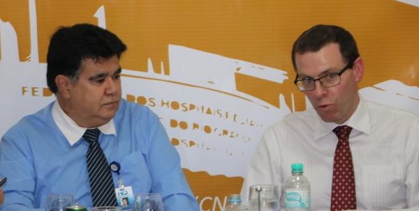 A atividade foi comandada pelo coordenador do Fórum FEHOSULRH, Jose Antonio Costa, gestor de pessoas do Hospital Ernesto Dornelles, da capital, e pelo assessor jurídico da entidade patronal, Dr. José Pedro Pedrassani.