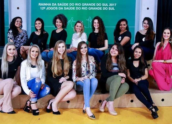 Candidatas à Rainha da Saúde 2017