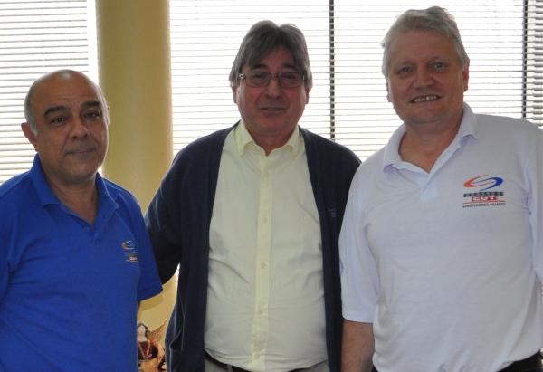 Presidente da FEHOSUL conversou com os representantes dos trabalhadores da saúde