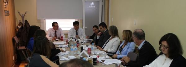 Pedrassani e Costa no Grupo de Estudo da FEHOSUL