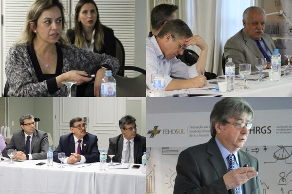 Terceiro encontro ocorrido em Porto Alegre