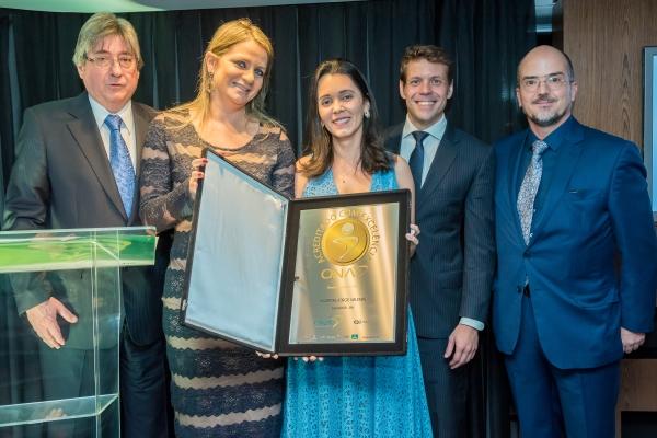 Hospital Jorge Valente, de Salvador – Bahia, representado pelas Senhoras Renata Serafim e Dra. Lívia Costa,acreditado pela IAC IQG