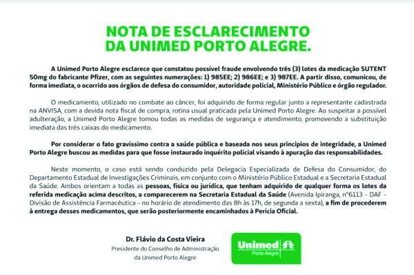 Nota_Oficial_Unimed_Sutent