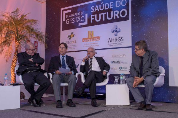 Fábio Gandour, Flávio Borges, Alceu Alves e Evandro Tinoco