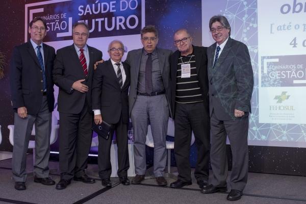 Flávio Borges, Henri Chazan, Alceu Alves, Evandro Tinoco, Fábio Gandour e Cláudio Allgayer