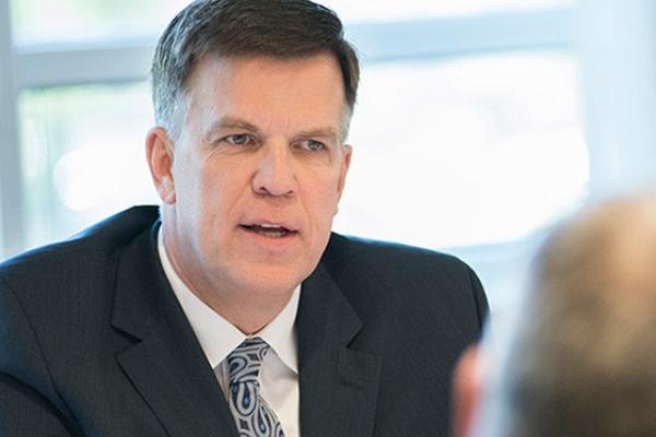 Brian Donley é CEO da unidade de Londres da Cleveland Clinic