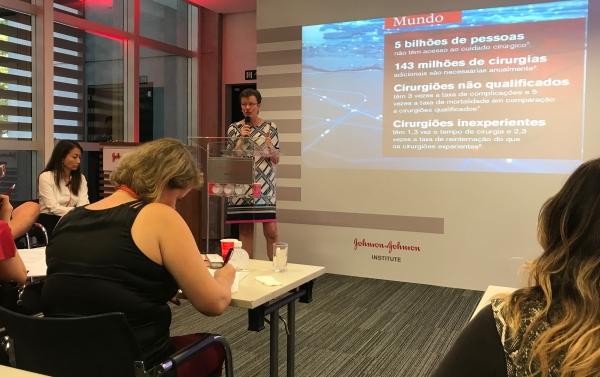 Sandra Humbles vice-presidente global da JJI
