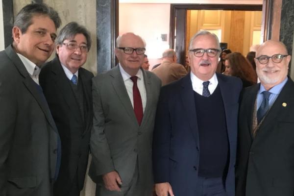 Allgayer, Tércio Kasten, Westphalne e Paulo Pereira