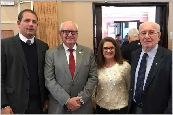 Luiz César Leal, Tércio Kasten, Vera Lucia Reck e Irineu Grinberg