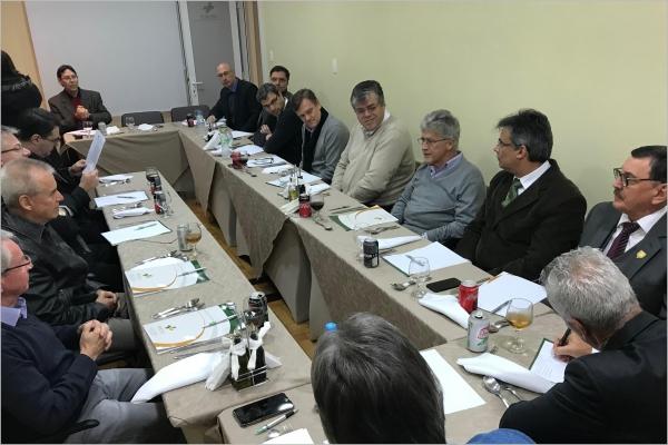 Dia 5 de julho, Fehosul se reúne com a Federação das Santas Casas