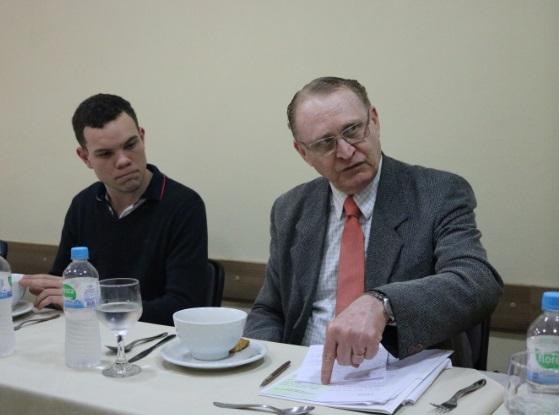 Leonardo Spindler (Agenda 2020) e Antonio Quinto Neto (Hospital Banco de Olhos)