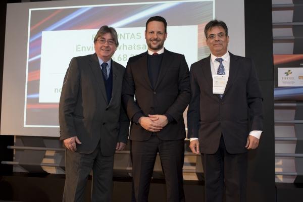 Cláudio Allgayer, Fabrício Campolina e Everton Luiz Meyer Morais