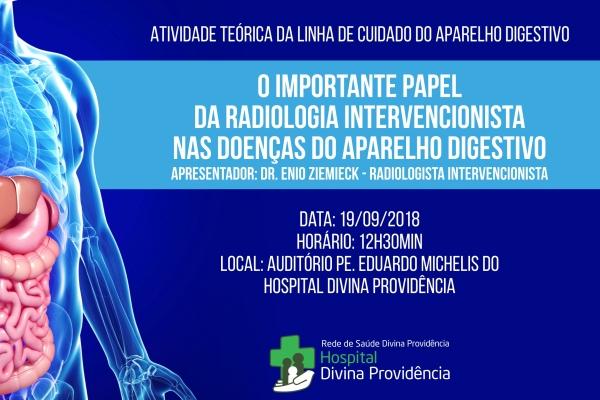 Radiologia intervencionista nas doenças do aparelho digestivo com o Dr. Enio Ziemieck