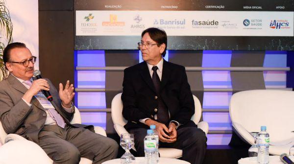 Jaderson e Flávio Borges (momento de debate)
