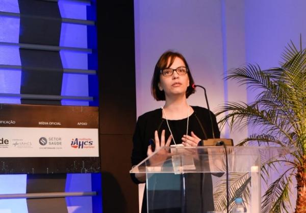 Tatiana Ferreira Almeida apresentou soluções digitais no Seminários de Gestão