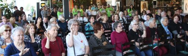 Público presente no evento da ATS