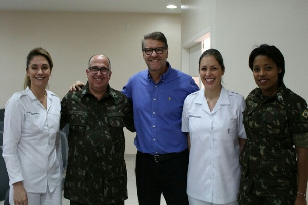 Professor da Fasaúde realiza palestra na Policlínica Militar de Porto Alegre