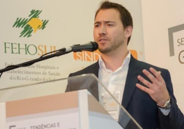 Frederico Tarrago (Especialista de Inovação e Processos do Hospital Moinhos de Vento)