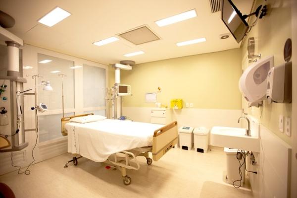 Centro de Tratamento Intensivo (CTI) do Hospital Mãe de Deus