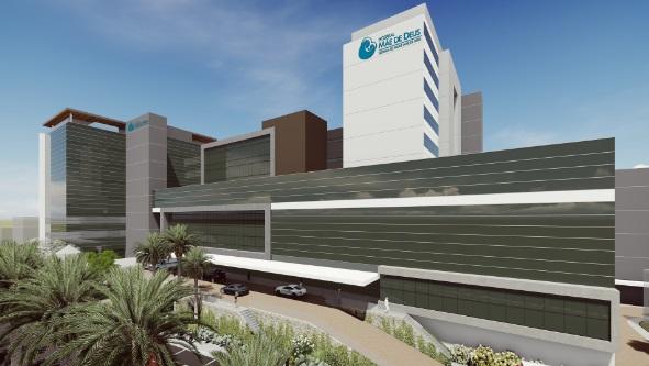 Hospital Mãe de Deus anuncia obras que aumentarão em 30