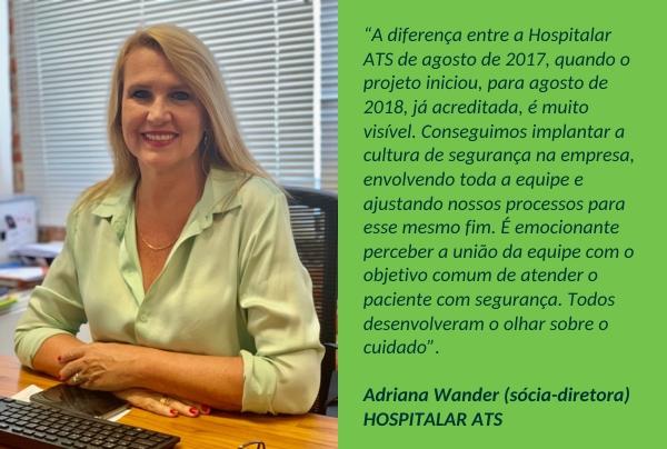 Adriana Wander sócia-diretora ATS
